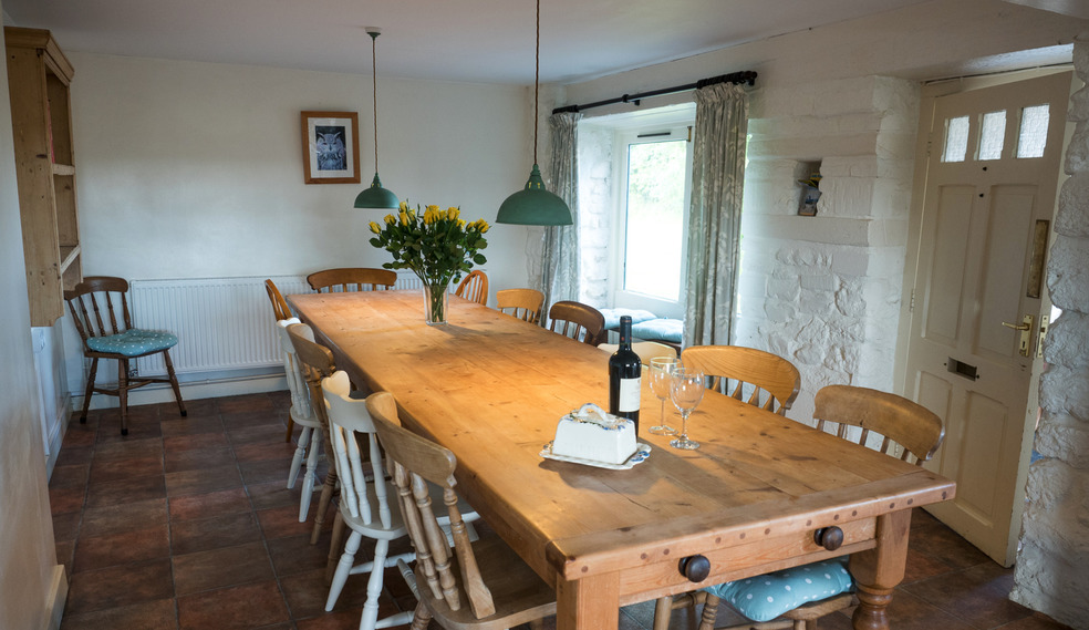 Kitchen for self catering in Devon for large groups